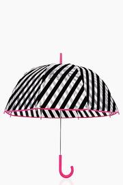 Kate Spade New York Striped Umbrella - Front full body