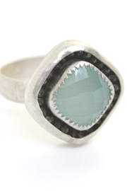 Kate Sydney Jewelry Aqua Chalcedony Ring - Product Mini Image