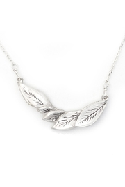 Kate Sydney Jewelry Carved Leaf Necklace - Product Mini Image