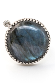 Kate Sydney Jewelry Labradorite Diamond Ring - Product Mini Image