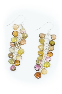 Kate Sydney Jewelry Mixed Tourmaline Earrings - Product List Image