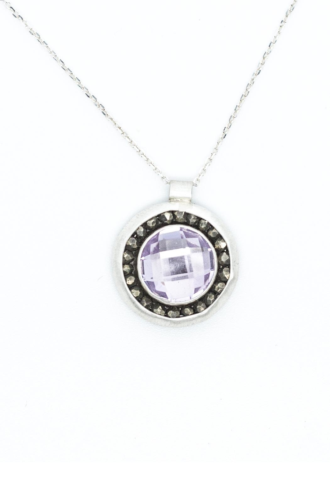 Kate Sydney Jewelry Pink Amethyst Necklace - Main Image