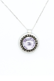 Kate Sydney Jewelry Pink Amethyst Necklace - Product Mini Image