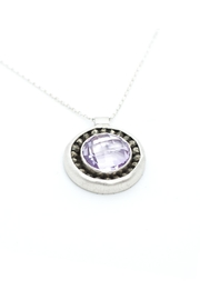 Kate Sydney Jewelry Pink Amethyst Necklace - Side cropped