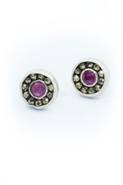 Kate Sydney Jewelry Ruby Aurora Studs - Product Mini Image