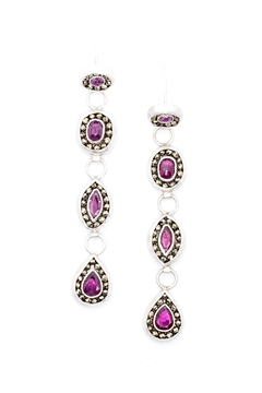 Shoptiques Product: Ruby Statement Earrings