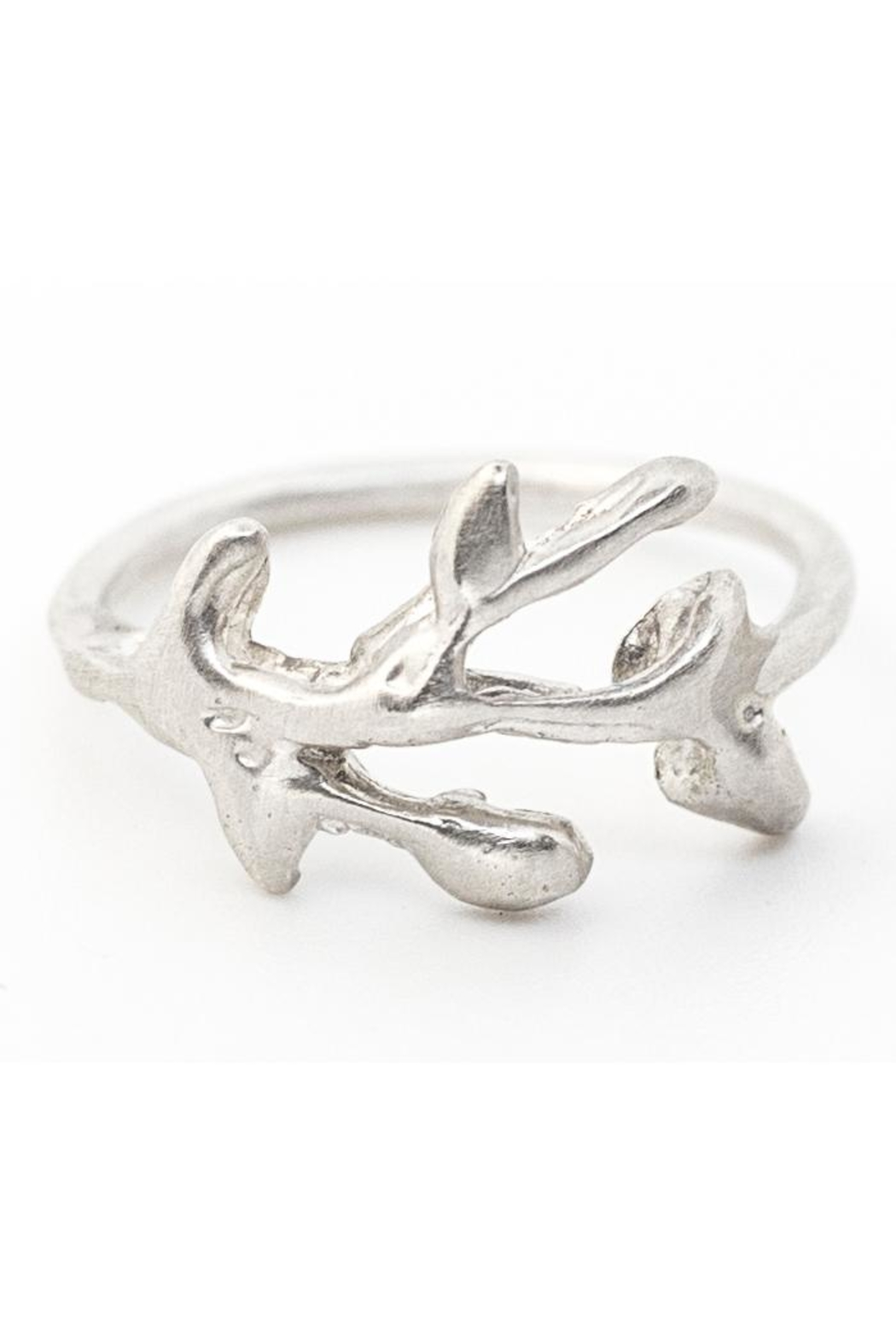Kate Sydney Jewelry Silver Branch Ring - Main Image