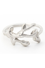 Kate Sydney Jewelry Silver Branch Ring - Front cropped