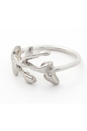 Kate Sydney Jewelry Silver Branch Ring - Front full body
