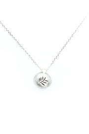 Kate Sydney Jewelry Silver Fern Necklace - Product Mini Image