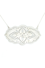 Kate Sydney Jewelry Silver Filigree Necklace - Front cropped