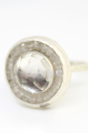 Kate Sydney Jewelry Topaz Moonstone Ring - Front cropped