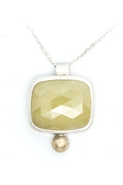 Kate Sydney Jewelry Yellow Sapphire Necklace - Product Mini Image