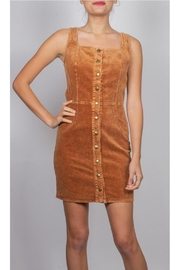 Illa Illa Katelyn Cutout Corduroy-Dress - Product Mini Image