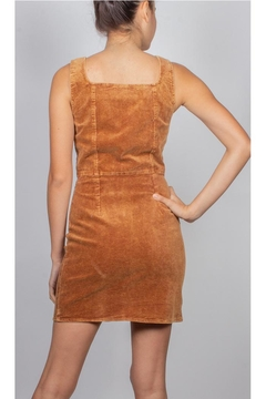Illa Illa Katelyn Cutout Corduroy-Dress - Alternate List Image