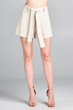 Shoptiques Product: Katelyn Shorts Oatmeal