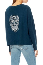 360 Cashmere Kateryna Skull Sweater - Product Mini Image