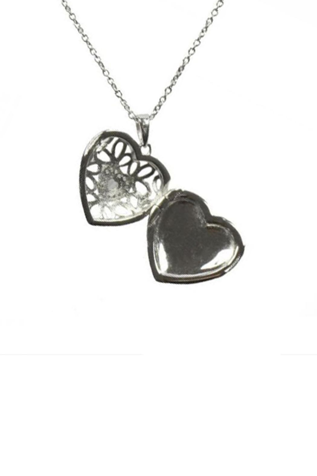 Lets Accessorize Katharine Locket Necklace - Front Full Image