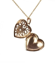 Lets Accessorize Katharine Locket Necklace - Front full body