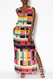 Katherine Barclay Abstract Maxi Dress - Product Mini Image