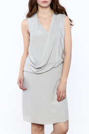 Katherine Barclay Grey Sky Dress - Product Mini Image