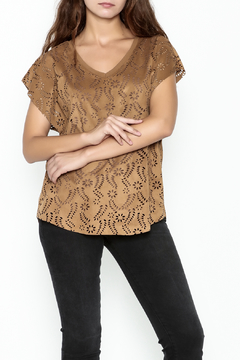 Katherine Barclay Laser Cut Top - Product List Image