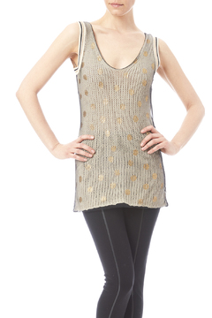 Shoptiques Product: Overlay metallic tank