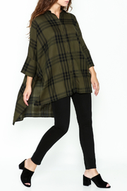 Katherine Barclay Oversized Button Up Tunic - Side cropped