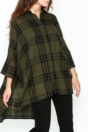 Katherine Barclay Oversized Button Up Tunic - Front cropped