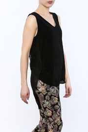 Katherine Barclay Silk Sleeveless Blouse - Product Mini Image