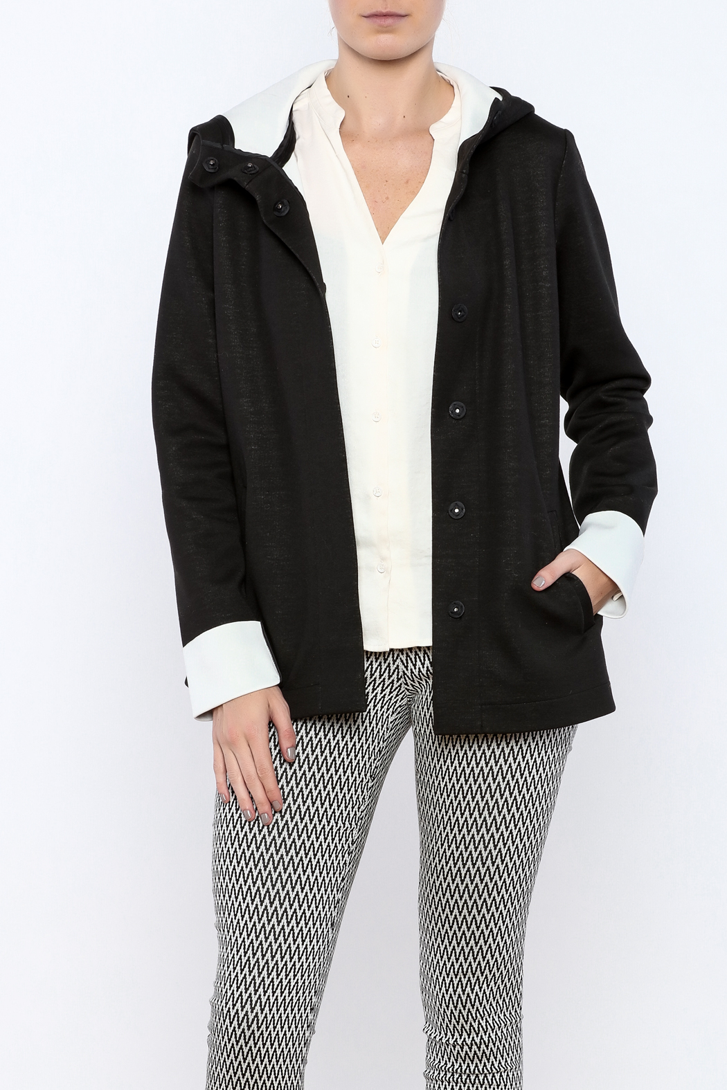 Katherine Barclay Snap Front Jacket - Main Image