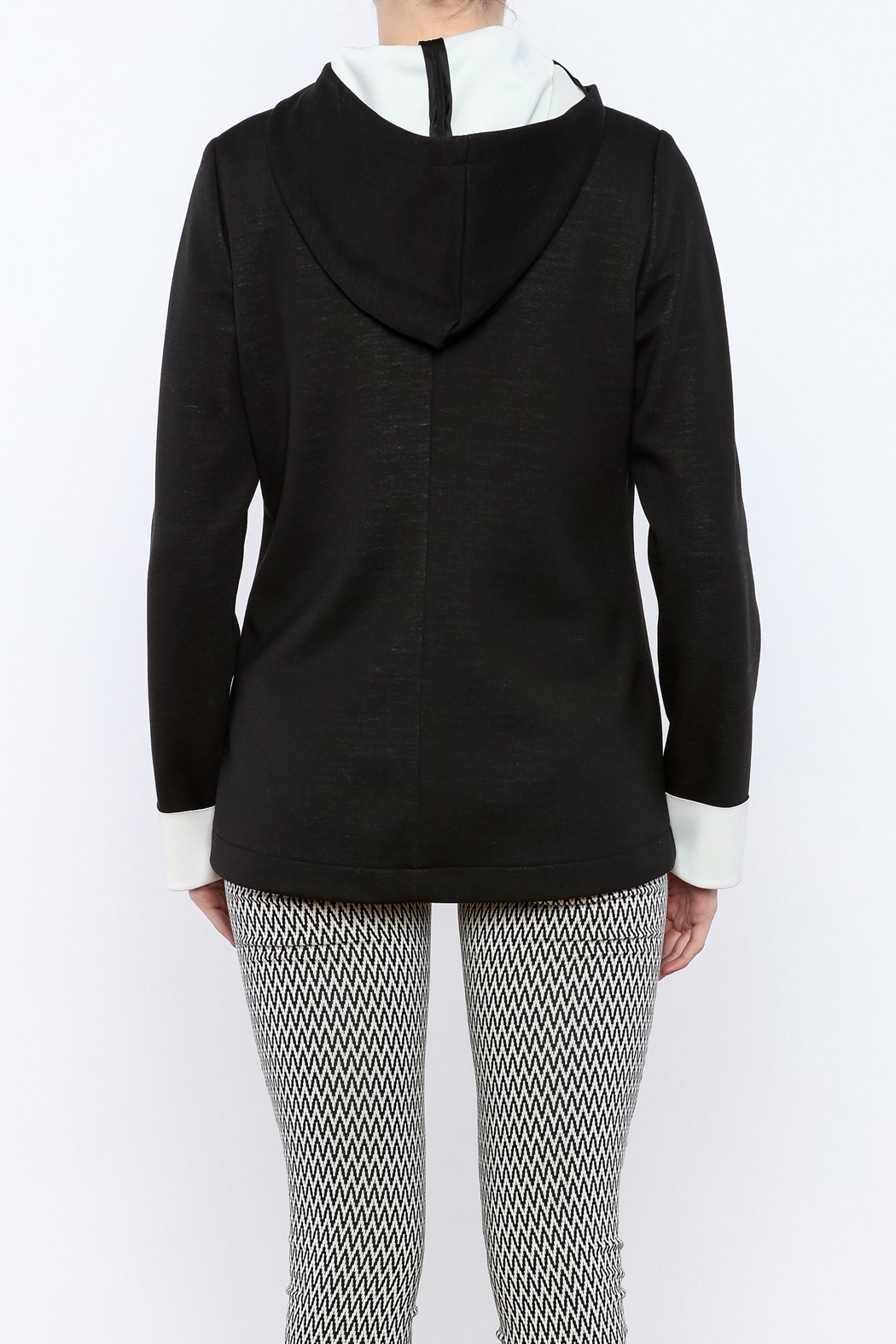 Katherine Barclay Snap Front Jacket - Back Cropped Image