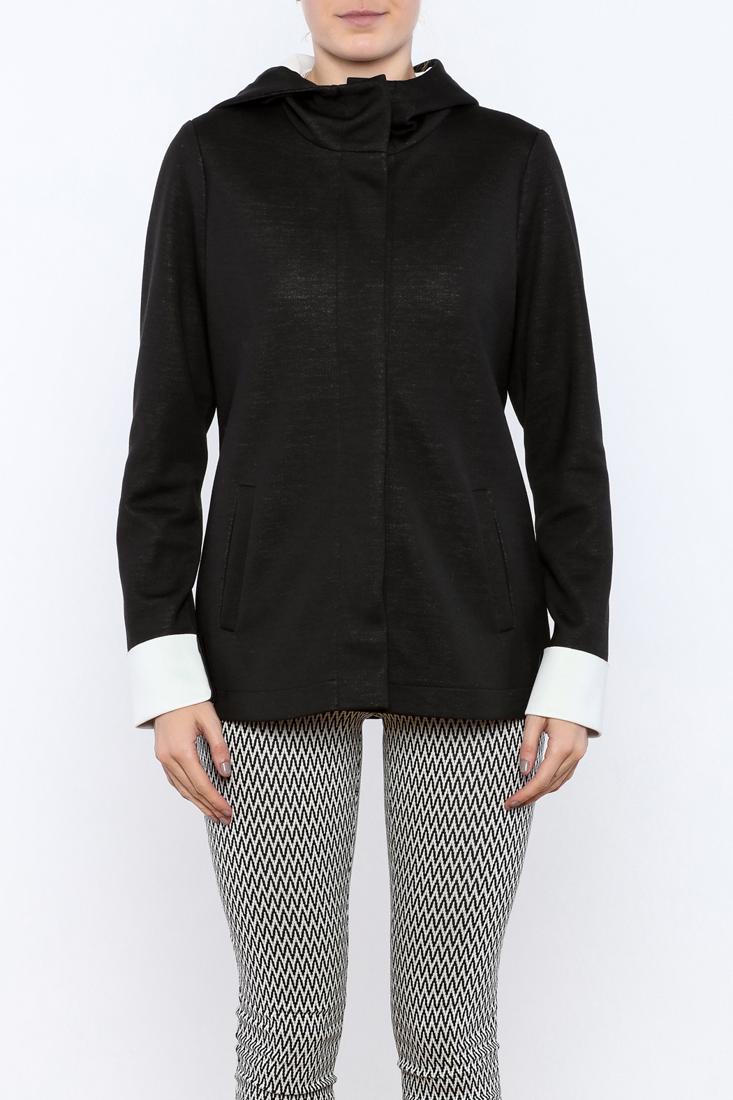 Katherine Barclay Snap Front Jacket - Side Cropped Image