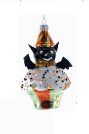 Katherine's Collection Bat Cupcake Ornament - Front cropped