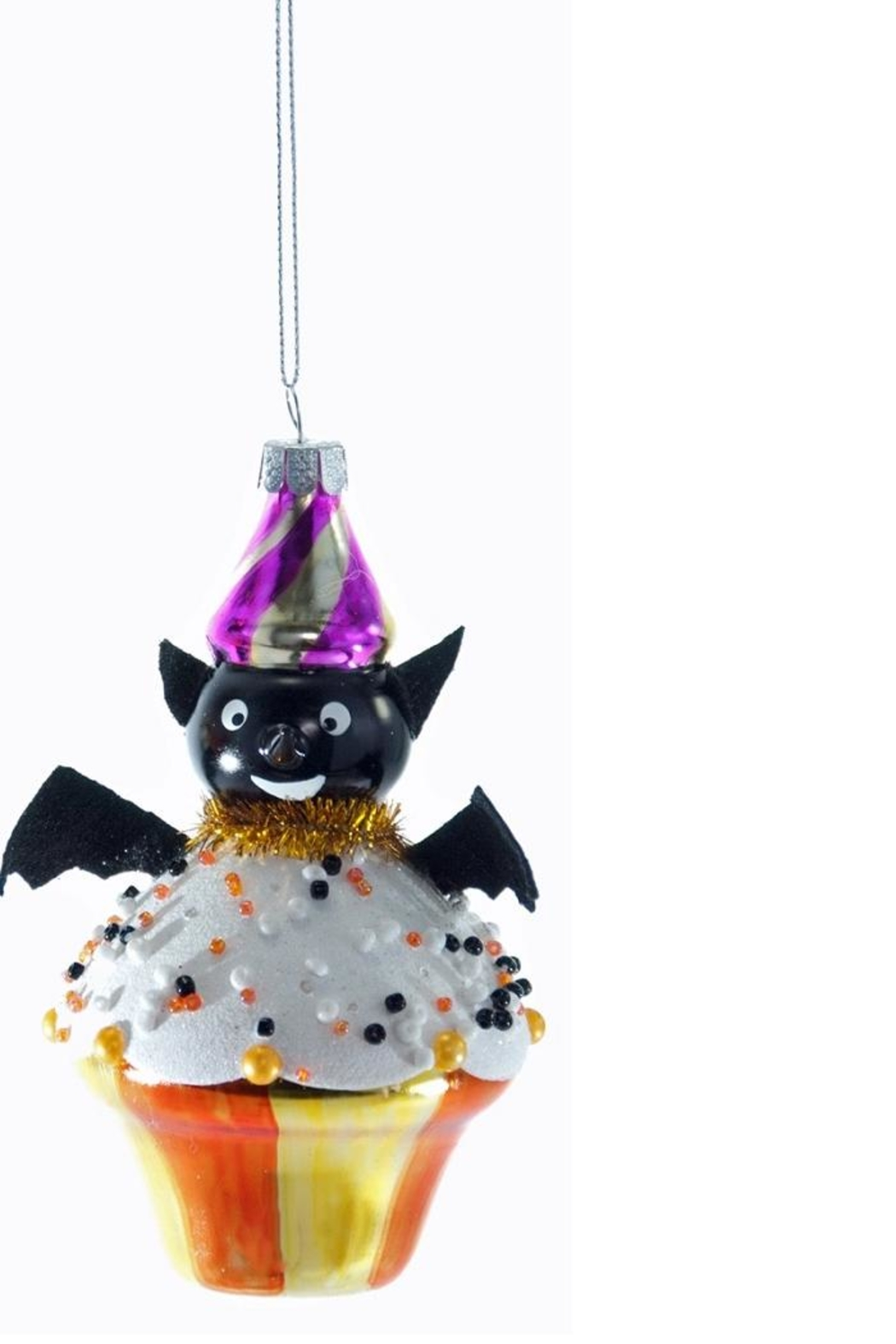 Katherine's Collection Bat Cupcake Ornament - Front Cropped Image