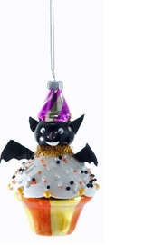 Katherine's Collection Bat Cupcake Ornament - Product Mini Image