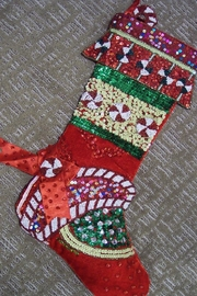 Katherine's Collection Candy Disc Stocking - Front cropped