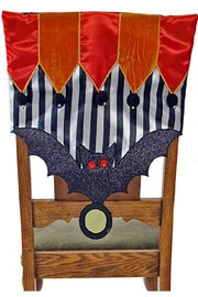Katherine's Collection Chair Covers For Halloween - Front full body