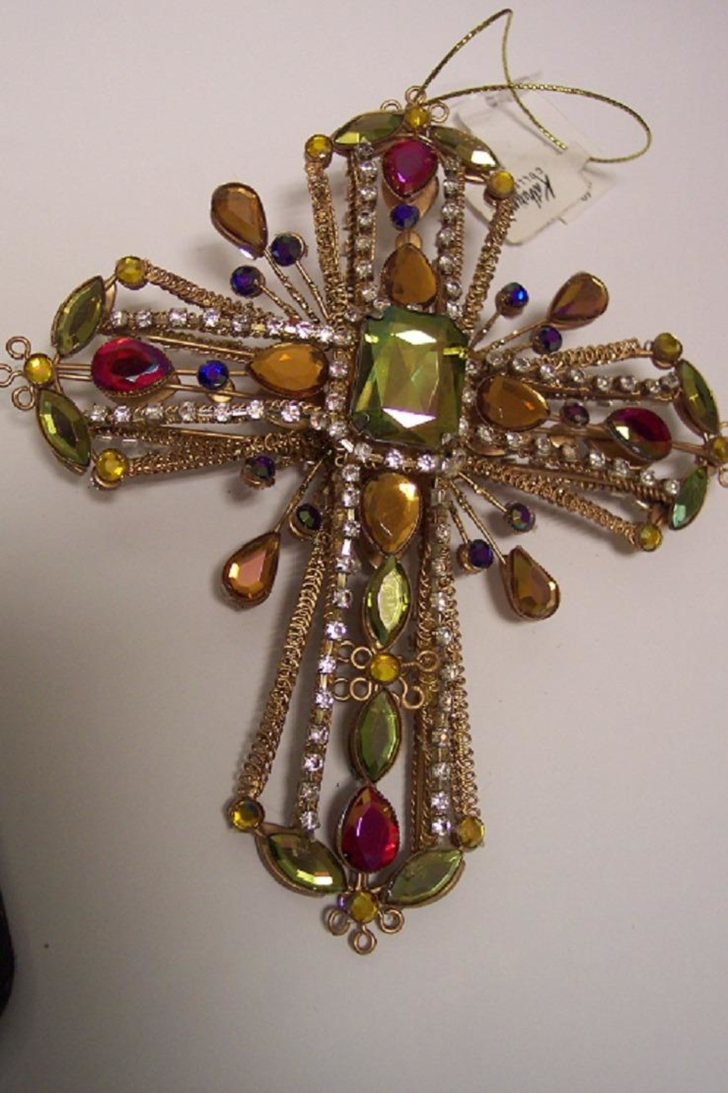 Katherine's Collection Cross Ornaments - Front Full Image