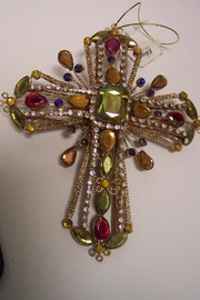 Katherine's Collection Cross Ornaments - Front full body