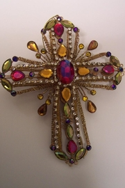 Katherine's Collection Cross Ornaments - Product Mini Image