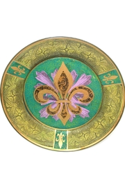 Katherine's Collection Fleur Plate Green - Product Mini Image