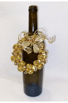 Katherine's Collection Gold Wreath Wine Bottle Jewelry - Alternate List Image
