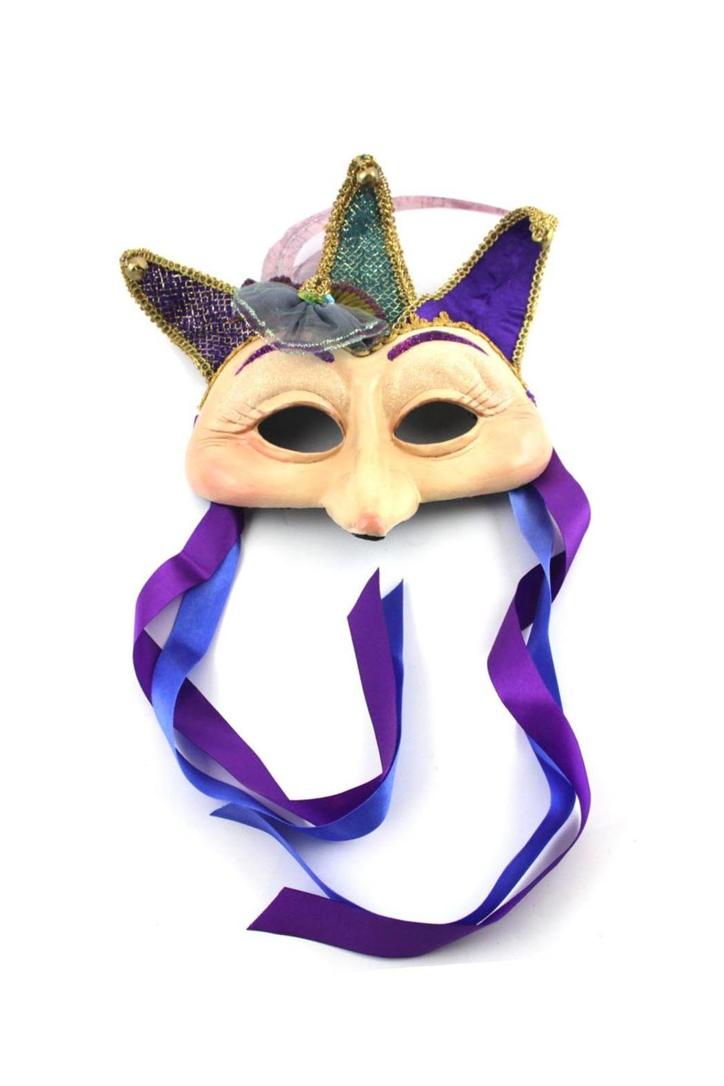 Katherine's Collection Long-Nose Mask Purple - Main Image