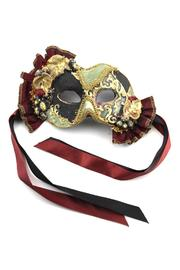 Katherine's Collection Velvet & Grapes Mask - Front cropped