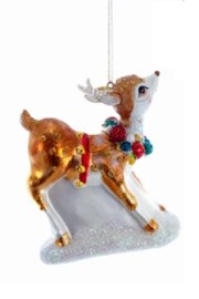 Katherine's Collection Playful Reindeer - Front cropped