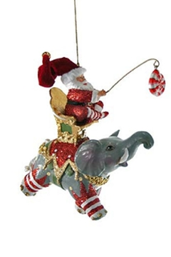 Shoptiques Product: Santa On Flying Elephants