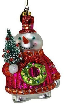 Katherine's Collection Ugly Sweater Snowman Ornament - Alternate List Image
