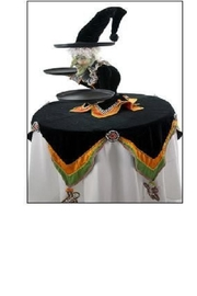 Katherine's Collection Witch Table Display - Front full body