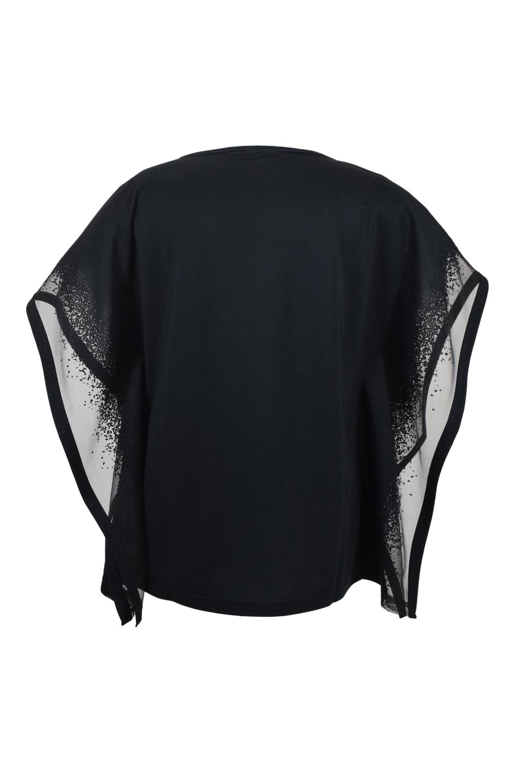 Katherine Barclay Burnout Sleeve Top - Front Full Image